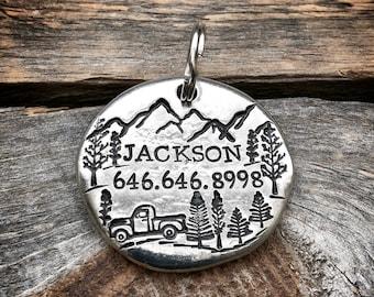 Pet ID tag, Dog ID tag, Pet identification tag, Personalized Pet Tag, Dog ID tag, dog identification tag, cat id tag, Custom dog name collar