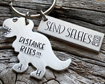 Long Distance Boyfriend Gift Custom For Him Couples Relationship Birthday