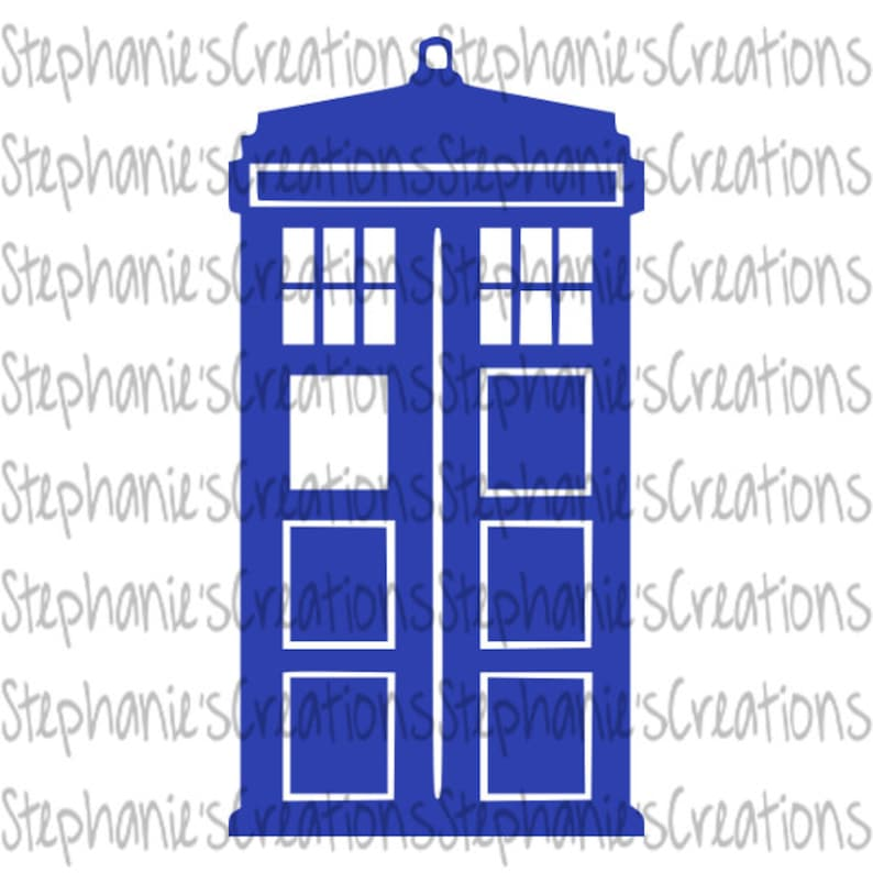 graphic about Doctor Who Printable known as Tardis SVG // Health practitioner Who // Printable