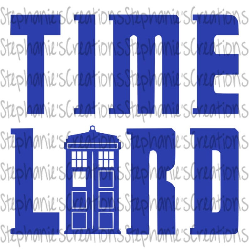 graphic about Tardis Sign Printable referred to as Timelord SVG // Physician Who // Tardis // Printable