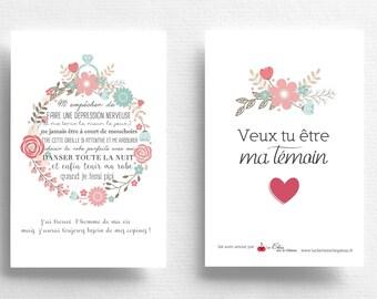 Faire Part De Mariage Etsy Fr