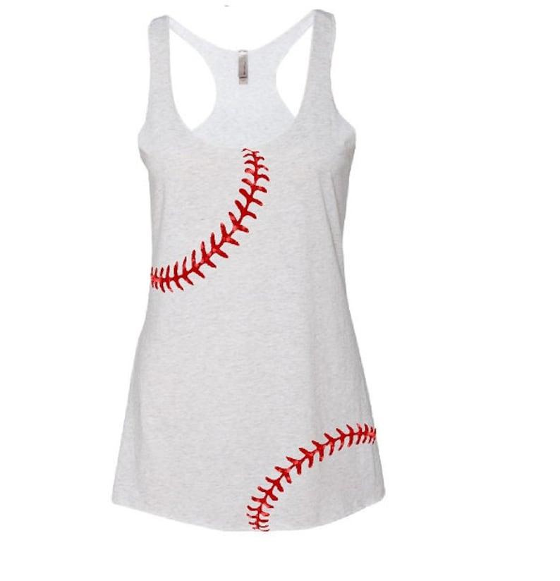 973bbe9397aec Baseball Mom Tank Top Softball Mom Tank Top Baseball Mom