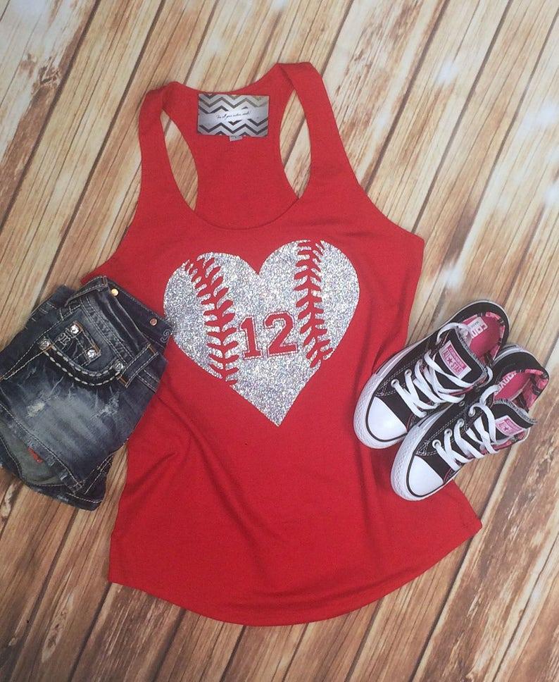 ef465b8161e66 Baseball Mom Shirt.Baseball Mom Tank Top.Softball Mom.Softball