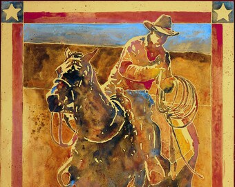 Rugged Spirit-Giclee Fine Art Poster Print on canvas or paper