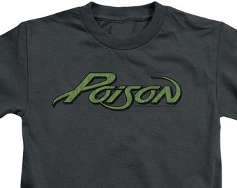 778b55b1 Poison Logo Kid's Charcoal T-Shirts