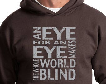 Men's An Eye for an Eye Hoody EYEFOREYE-PC90H