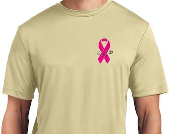 Breast Cancer Awareness Believe in a Cure Juniors Boxy Crop T-Shirt 19099E4-JJP0598