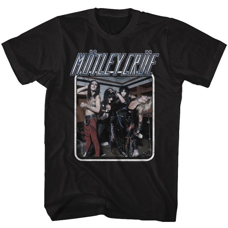 Motley Crue Group Photo Black Shirts