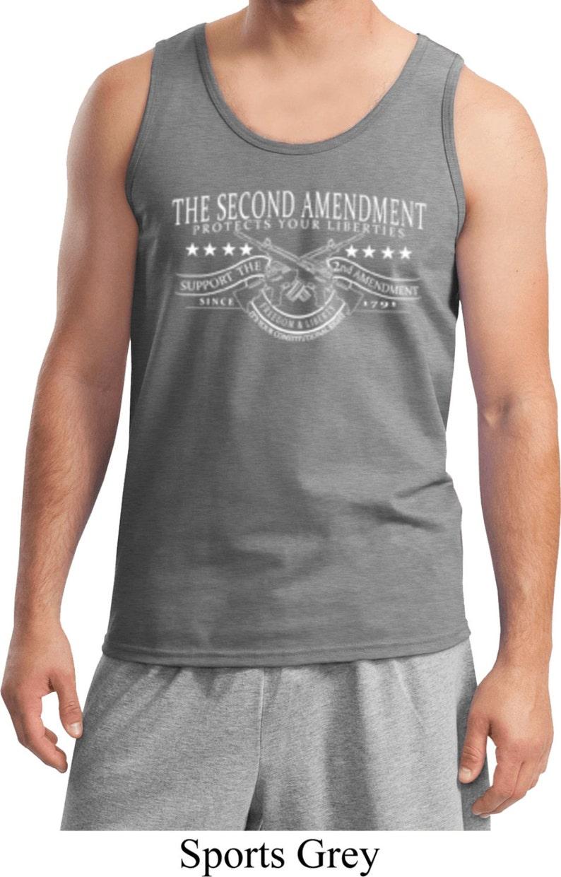 The Second Amendment Mens Tank Top WS-16080-2200