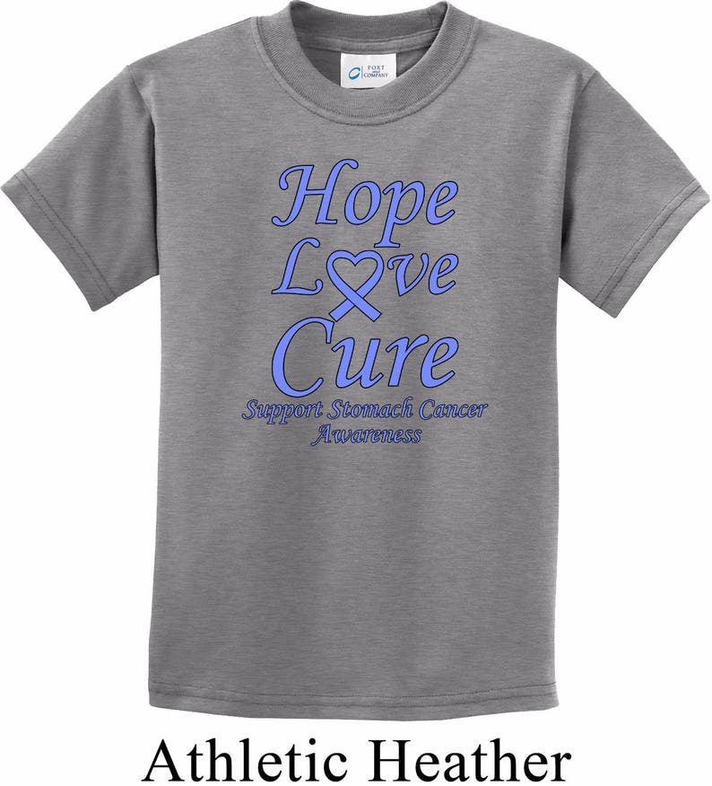 e9c17fde2 Kid s Hope Love Cure Support Stomach Cancer Awareness