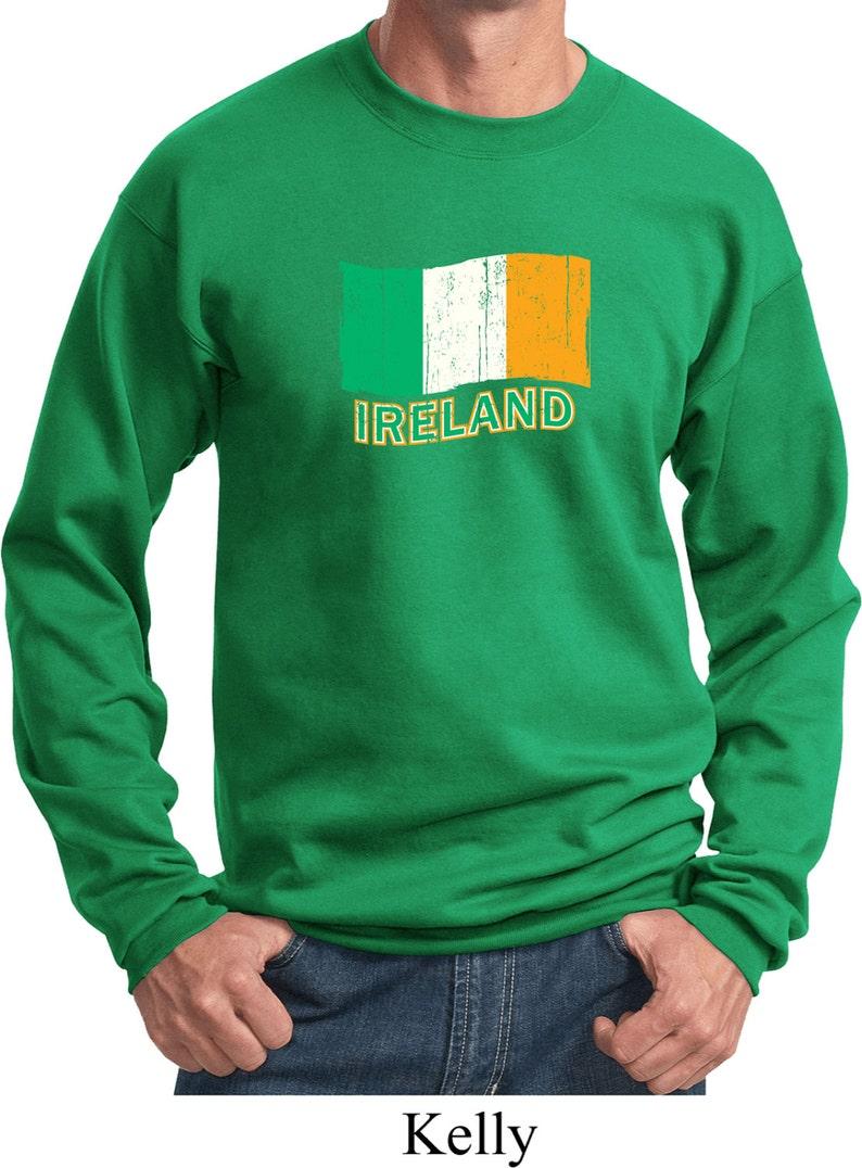 bbdbf3b18 Distressed Ireland Flag Adult Unisex St Patrick's Day   Etsy