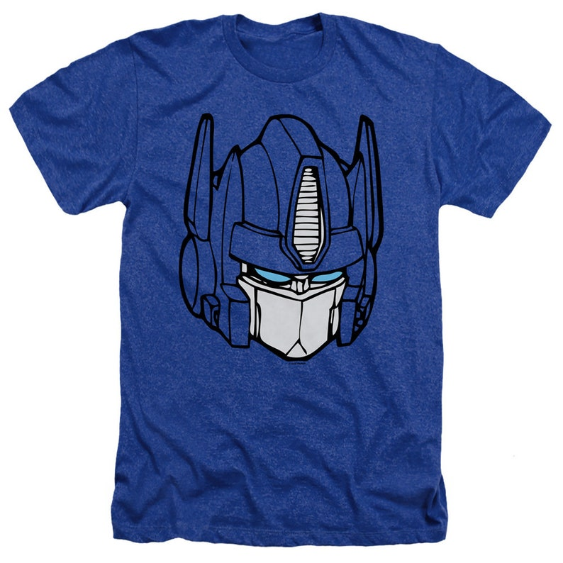 Transformers Optimus Prime Face Royal Shirts