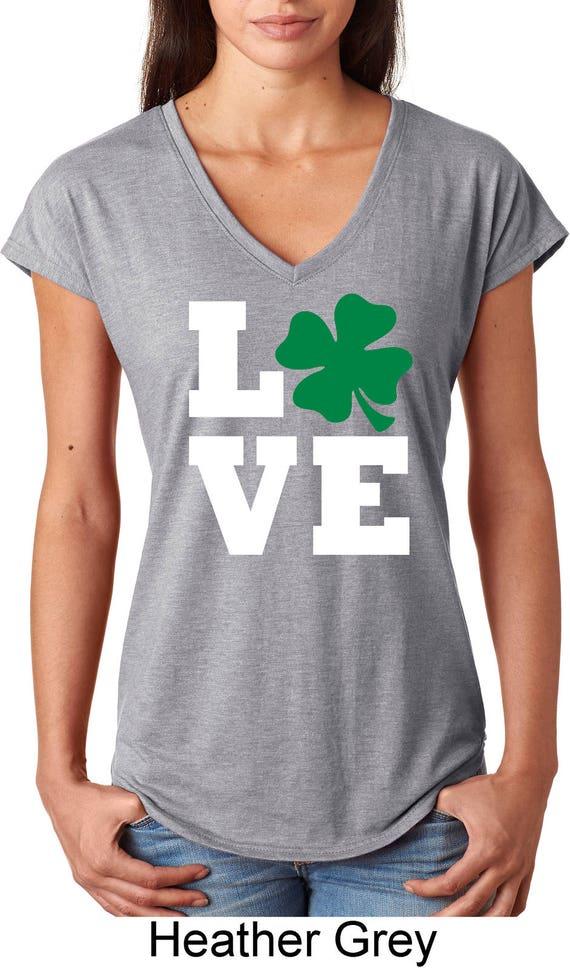tee Doryti Quit Staring at My Shamrocks Funny Saint Patricks Day Women Sweatshirt