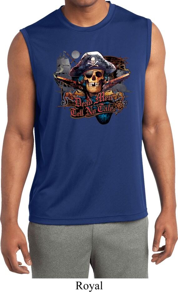 68cdd1bf50e2e Men s Pirate Shirt Tell No Tales Pirate Sleeveless