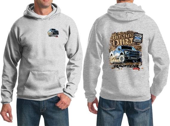 Ford sweatshirt Men/'s crewneck Ford V8 tin sign design sweat shirt dark gray