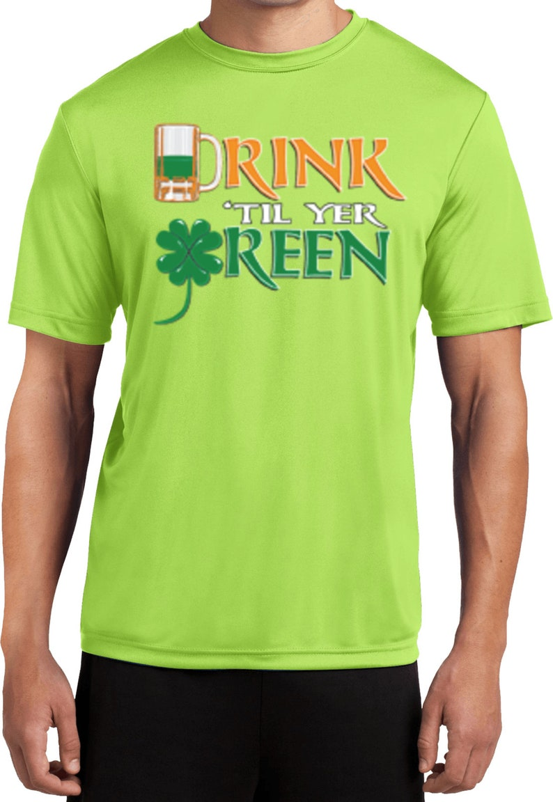 a533fe58 Drink 'Till Yer Green Men's St Patrick's Day | Etsy