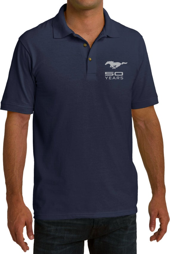 Ford Textured Polo 50 Years Pocket Print