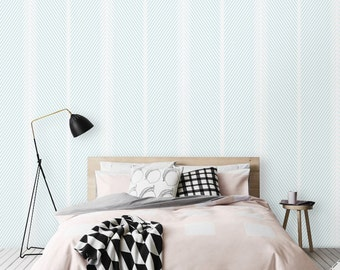 Peel and Stick Stripe print Removable Self-adhesive Wallpaper - CM031