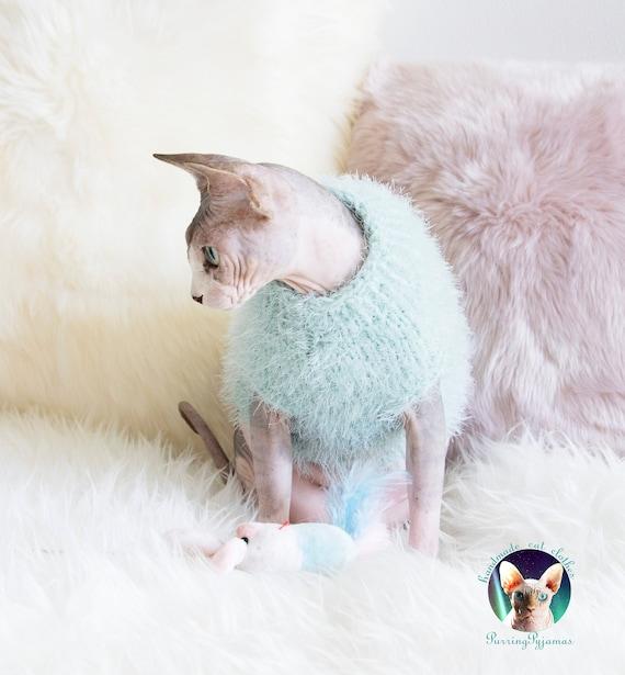 Sphynx sweater, sphynx kitten clothes, cat lover gift, sphynx lover gift,  cat shirt, sphynx shirt, cat sweater, sphynx cat sweater, sphynx