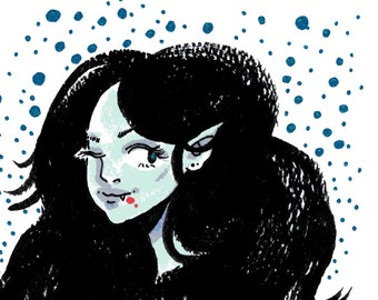 ADVENTURE TIME Marceline || Original Artwork A6