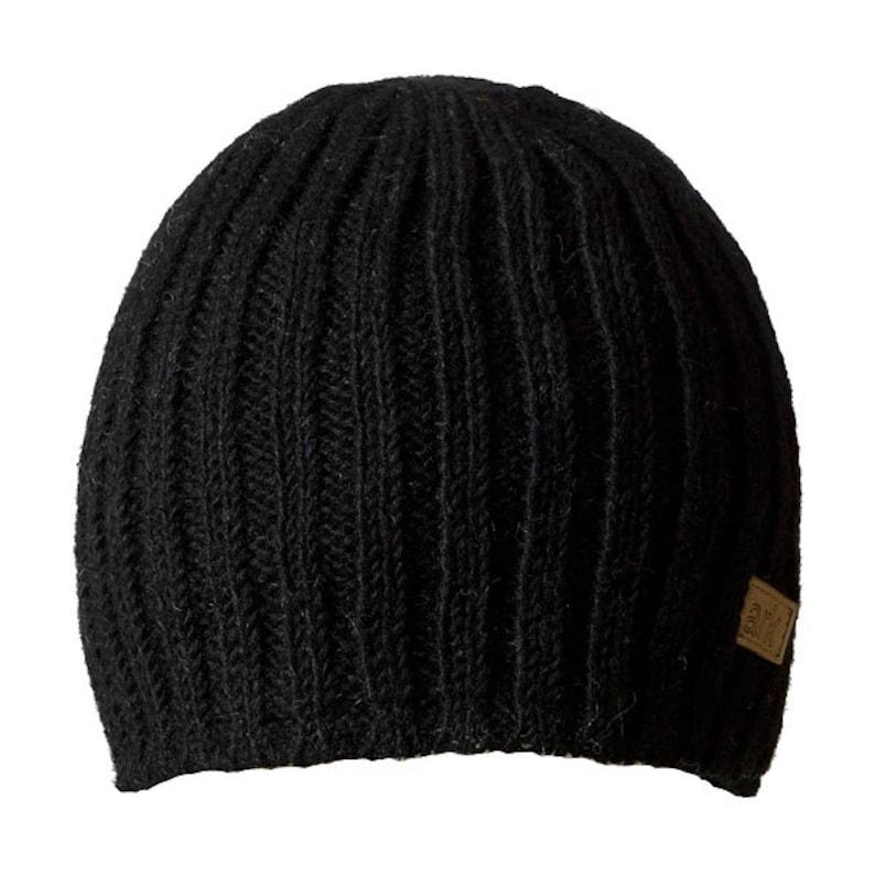ec23ea747 Hand knit Slouch Beanie, Rib Knit Hat, Wool beenie, Fleece Lined fleecy 768