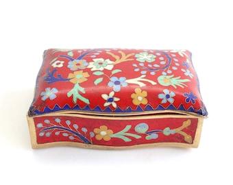 Decorative Porcelain Box, Trinket Box, Jewelry Box