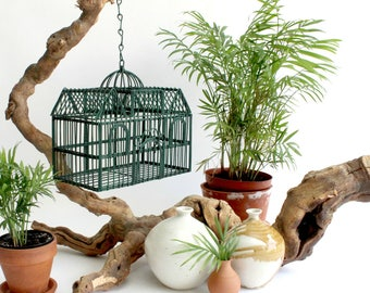 Decorative Metal Birdcage, Hanging Decor
