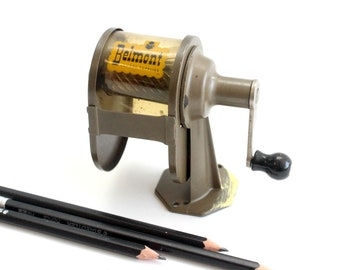 Vintage Metal Tabletop Pencil Sharpener