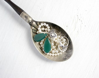 Vintage Serving Spoon - Makes A Perfect Little Jewelry Tray!