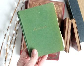 Antique Poetry Book, Songs Out of Doors by Henry Van Dyke