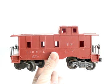 Red Caboose Toy, Vintage Lionel 6257 SP Red Caboose