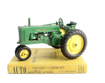 Vintage Book, Auto Motive Series, Tractors and Crawlers
