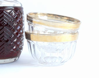Glass Bowls, Vintage Candy Dishes