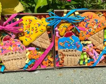 Dog Birthday Dog Gift Dog Treat Dog Cookies Decorated Dog Treats Iced Dog Cookies Homemade Dog Treats Peanut Butter Dog Treats Gotcha Day