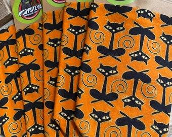 Black Cat Halloween Dog Bandana Dog Bandana Halloween Dog Halloween Dog Treats Dog Cookies Free Shipping
