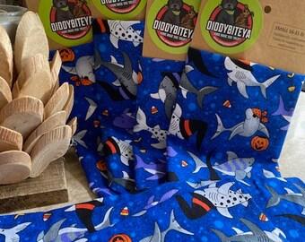 Halloween Shark Bandana Dog Bandana Halloween Dog Halloween Sharks Dog Treats Dog Cookies