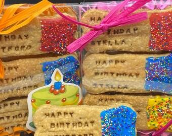Dog Birthday   Birthday   Dog Gift   Dog Treats   Dog Bones   Gourmet Dog Treats   Bone Biscuits   Dog   Dog Bone Treats   Birthday   Treats