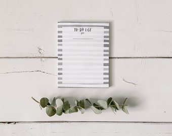 To-Do List Notepad - Things to Do - Chore Chart - Everyday Notepad - Hand Lettered Design