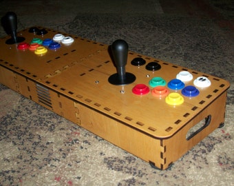 Tabletop MAME Arcade Enclosure Kit for Raspberry Pi System
