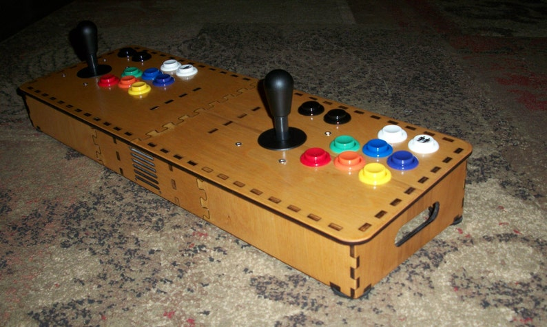Tabletop MAME Arcade Enclosure Kit for Raspberry Pi System image 0