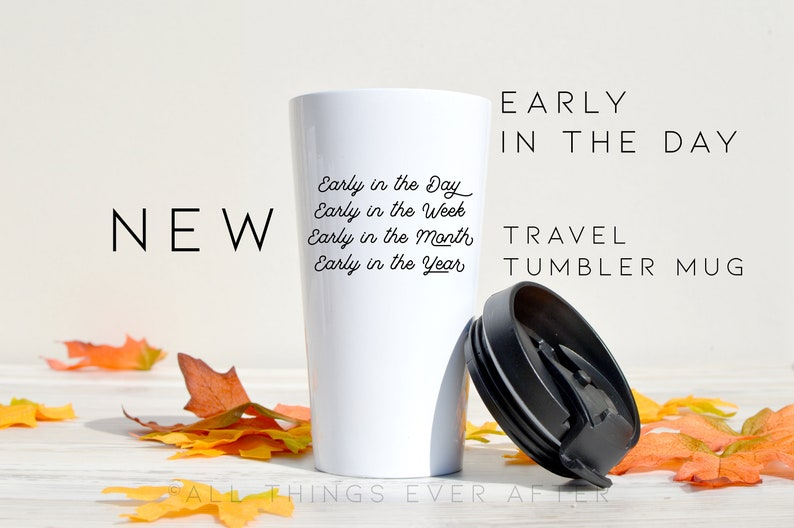 New Pioneer Travel >> Early In The Day Jw Pioneer Travel Tumbler Mug Jw Gift Pioneer Gift Pioneer Ske School