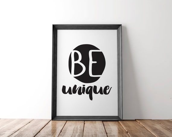 Black and White Teen Girls Bedroom Decor, Girl Room Decor, College Dorm  Decor, Playroom Wall Art, Black and White Room Decor