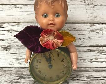Handmade ooak altered art doll