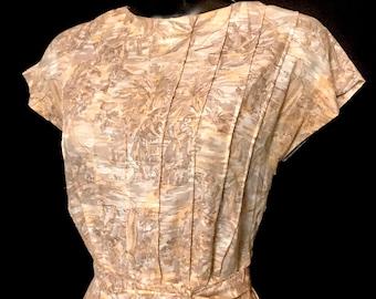 A 50's Ladies Pattern Dress                            VG324