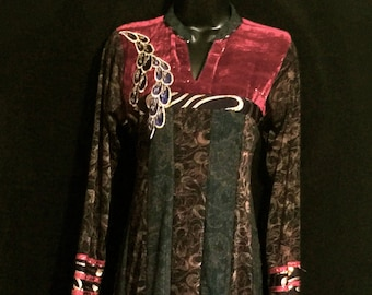 Vintage Boho Hippi Style Dress        VG151