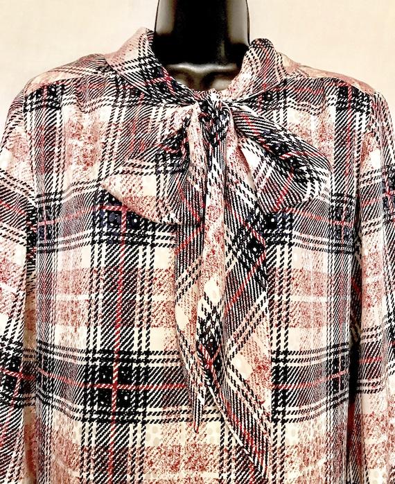 70s Nate Kaplan Couture Shirt Dress         VG390 - image 4