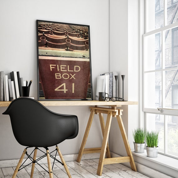 Pleasing Fenway Park Field Box Seats Print Red Sox Canvas Boston Red Sox Wall Decor Vintage Red Sox Art Choose Print Or Canvas Dailytribune Chair Design For Home Dailytribuneorg