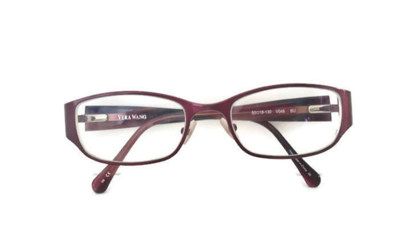 0cdde39f814 Vera Wang Eyeglass Frames Beautiful Burgundy Colour Style