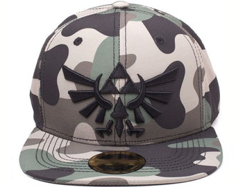 c4935fde20453 NINTENDO Legend of Zelda Baseball Cap Snapback Hat Camouflage Gift