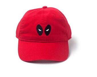 eec4e601756 MARVEL COMICS Deadpool Baseball Cap Snapback Stone Washed Denim Gift